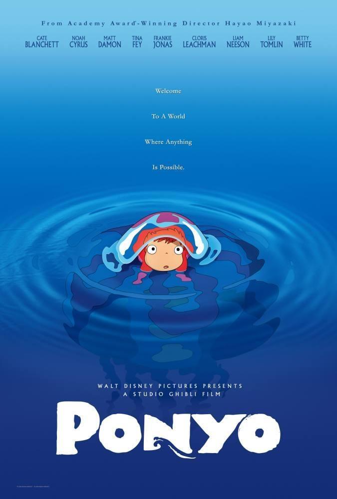 Ponyo Cartoon Movie Poster, Movie Poster, Poster Satış, all posters, kanvas tablo, canvas print sales