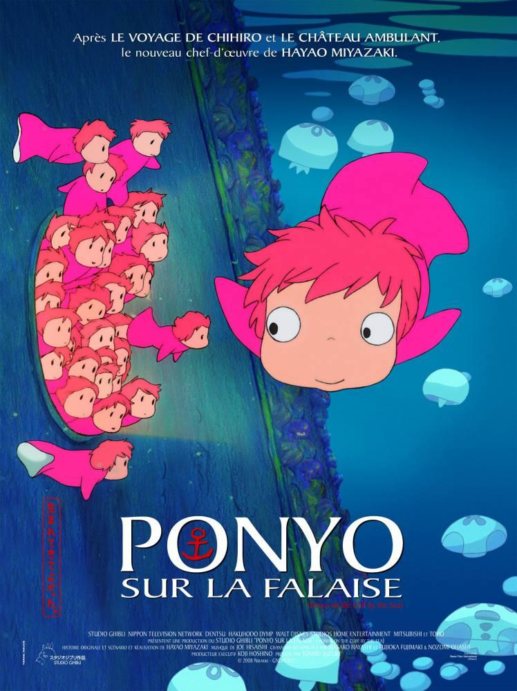 Ponyo Cartoon Movie Poster 2, Movie Poster, Poster Satış, all posters, kanvas tablo, canvas print sales