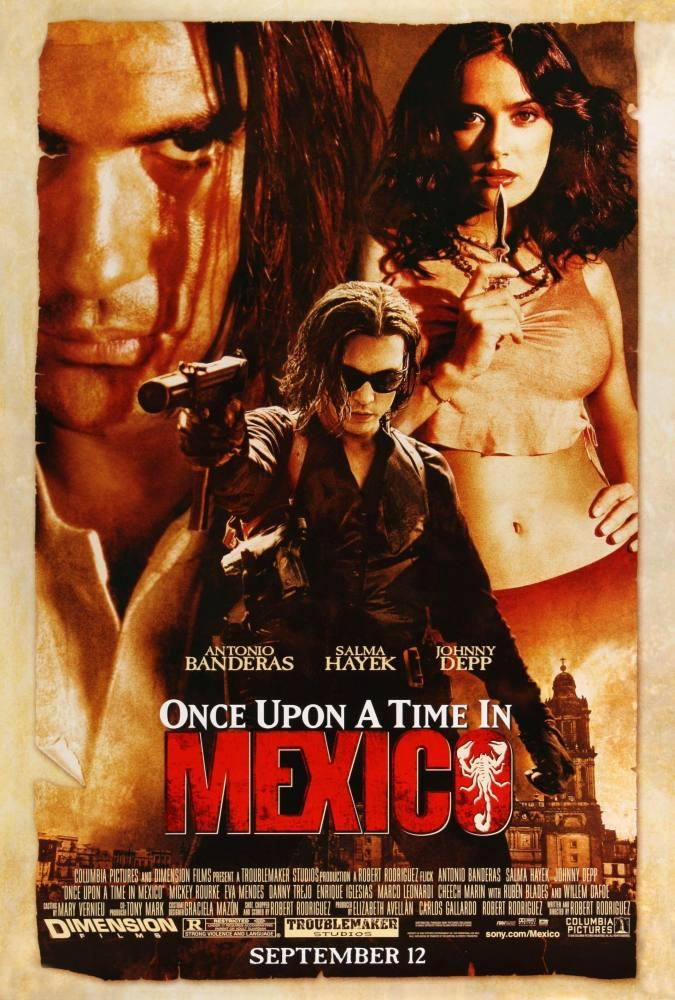 Once Upon a Time in Mexico Movie Poster, Movie Poster, Poster Satış, all posters, kanvas tablo, canvas print sales