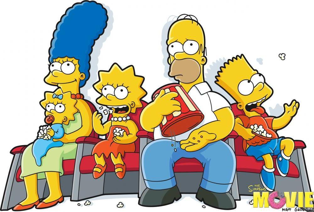 Simpsonlar Çizgi Film Posteri 3, Film Posteri, Poster Satış, all posters, kanvas tablo, canvas print sales
