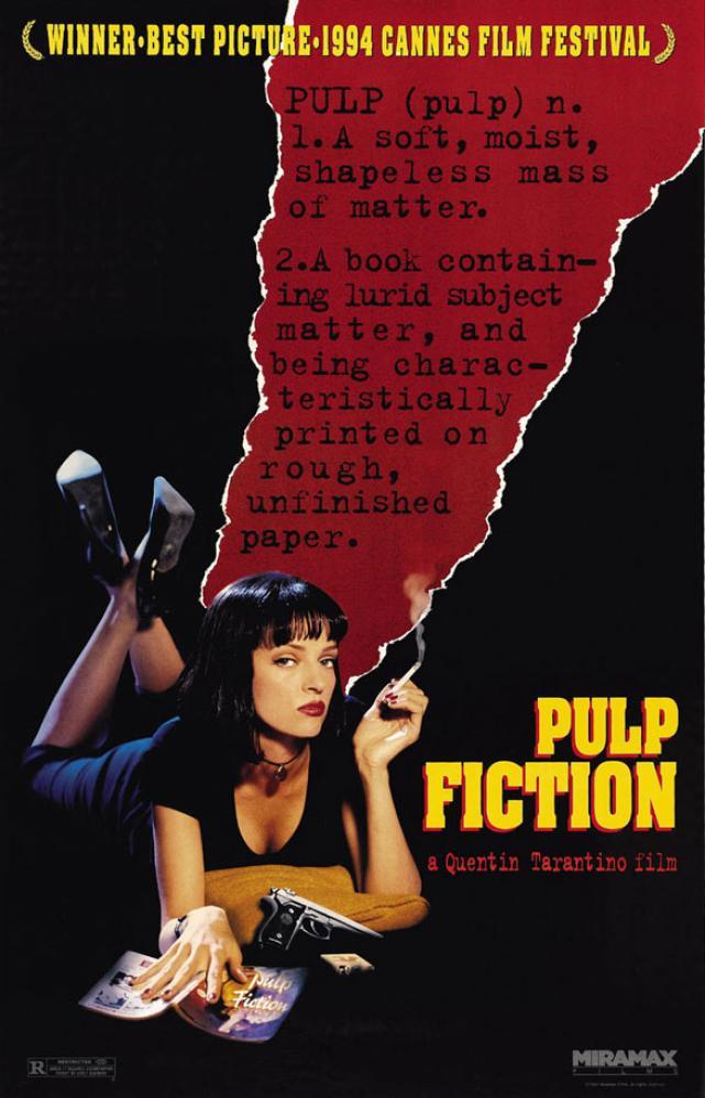 Pulp Fiction Movie Poster, Movie Poster, Poster Satış, all posters, kanvas tablo, canvas print sales