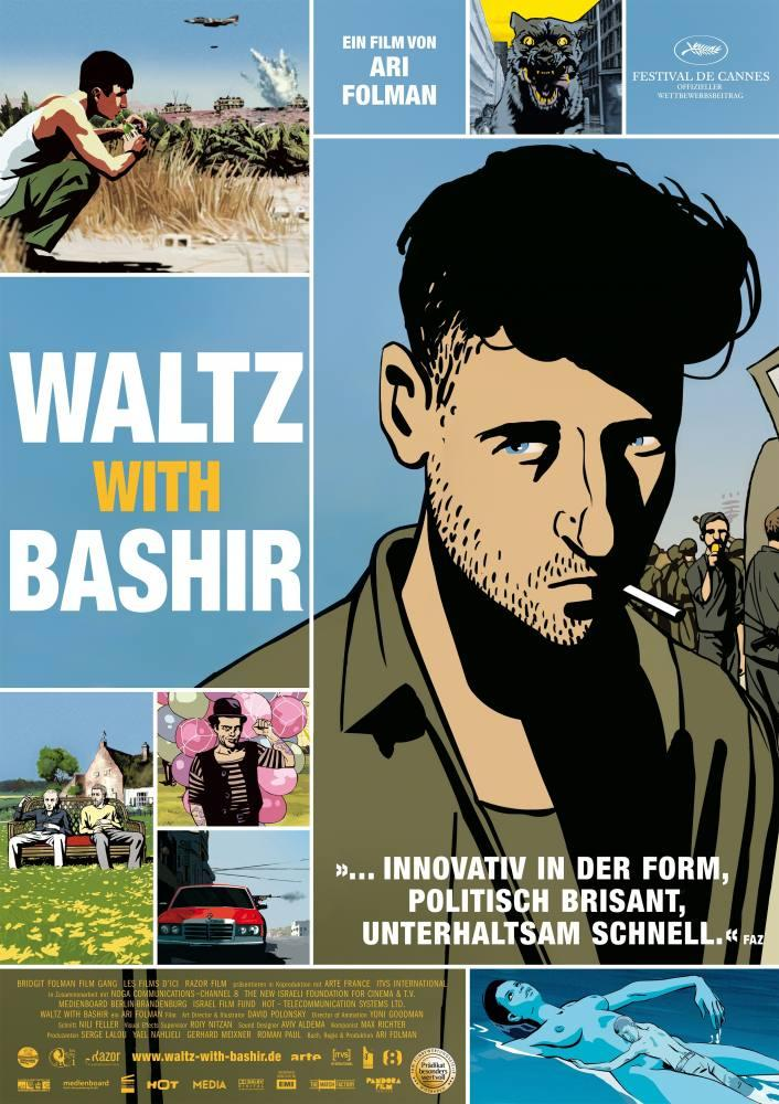 Waltz With Bashir Movie, Film Poster, Movie Poster, Poster Satış, all posters, kanvas tablo, canvas print sales