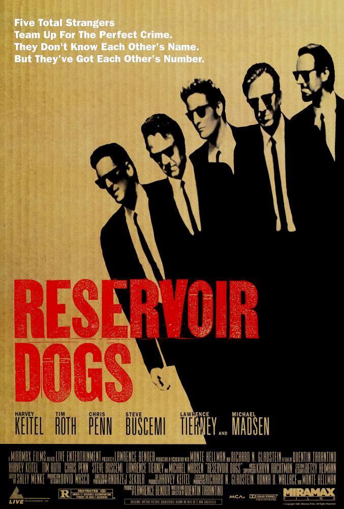Reservoir Dogs Movie Poster 2, Movie Poster, Poster Satış, all posters, kanvas tablo, canvas print sales