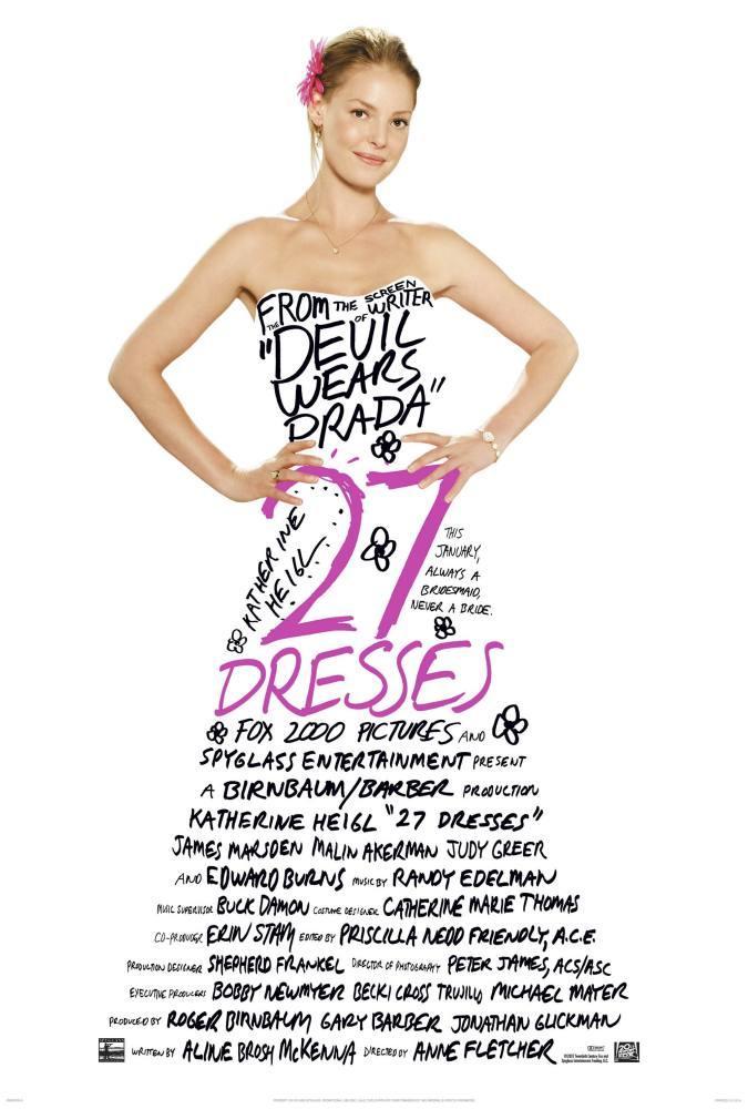 27 Elbise Film Posteri, Film Posteri, Poster Satış, all posters, kanvas tablo, canvas print sales