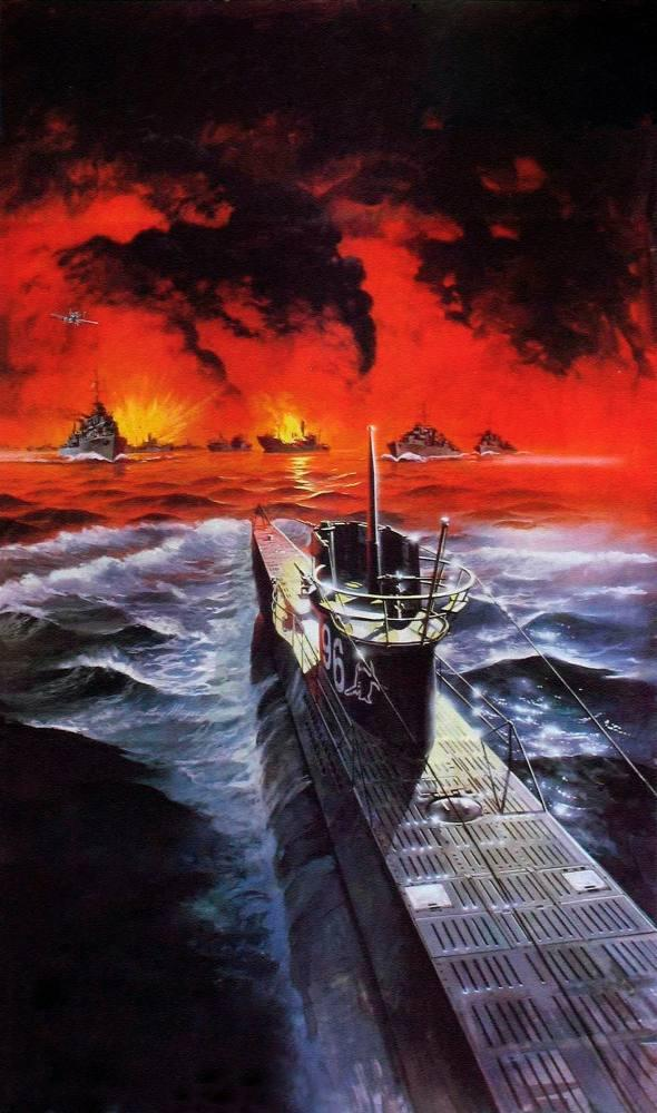 Das Boot Submarine Movie Poster 2, Movie Poster, Poster Satış, all posters, kanvas tablo, canvas print sales