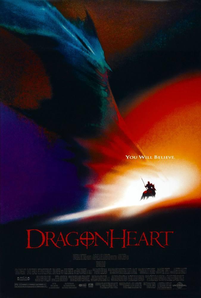 Dragon Heart Movie Poster 2, Movie Poster, Poster Satış, all posters, kanvas tablo, canvas print sales