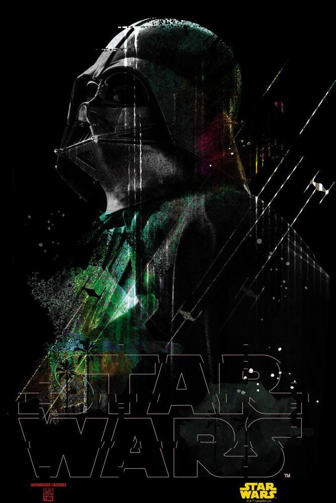Star Wars, The Dark Side of The Force, Darth Vader Movie Poster, Movie Poster, Poster Satış, all posters, kanvas tablo, canvas print sales