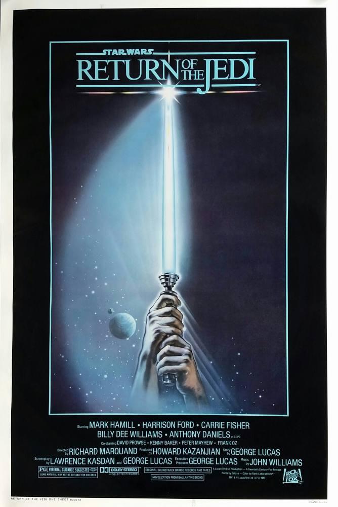 Star Wars, Return of The Jedi Movie Poster, Movie Poster, Poster Satış, all posters, kanvas tablo, canvas print sales