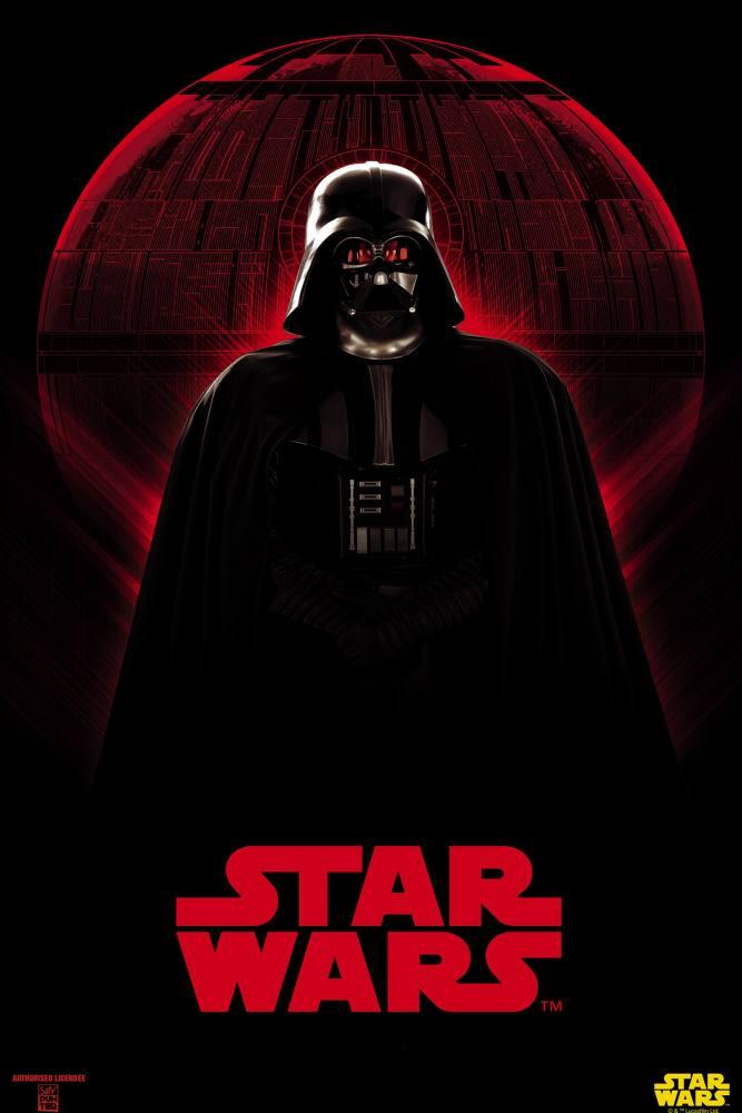 Star Wars, The Sith Lord Darth Vader Movie Poster, Movie Poster, Poster Satış, all posters, kanvas tablo, canvas print sales