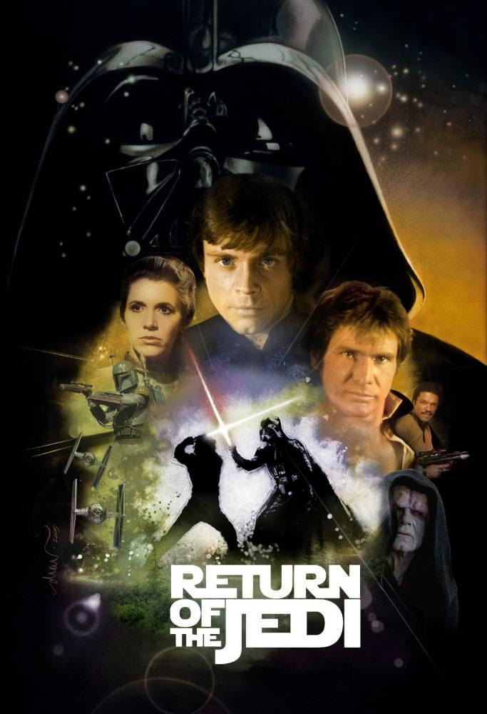Star Wars, Return of The Jedi Movie Poster 3, Movie Poster, Poster Satış, all posters, kanvas tablo, canvas print sales