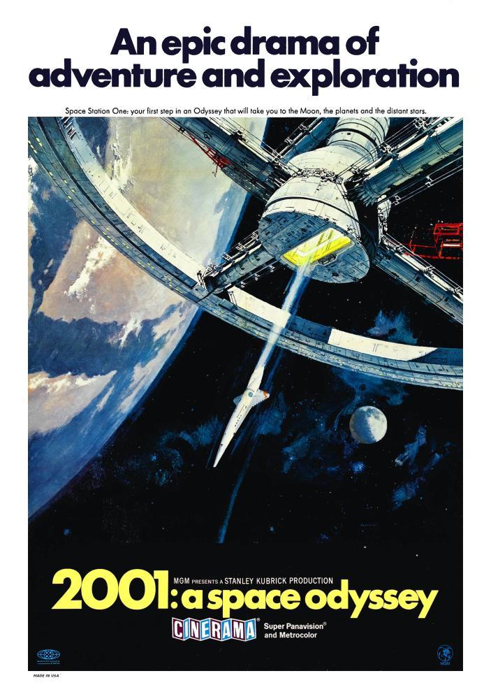 2001:A Space Odyssey Poster 2, Movie Poster, Poster Satış, all posters, kanvas tablo, canvas print sales