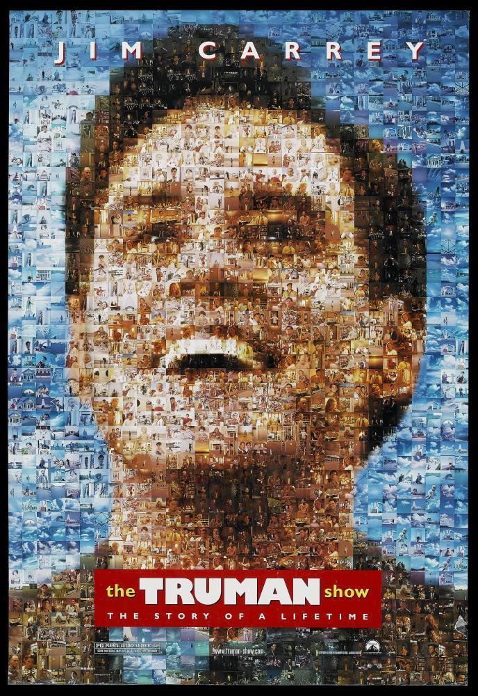 Truman Show Movie Poster 2, Movie Poster, Poster Satış, all posters, kanvas tablo, canvas print sales