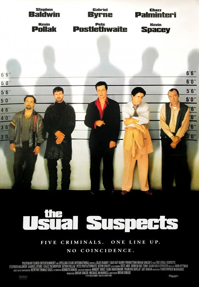 The Usual Suspects Movie Poster, Movie Poster, Poster Satış, all posters, kanvas tablo, canvas print sales