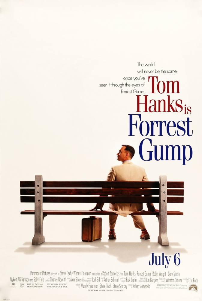 Forrest Gump Movie Poster, Movie Poster, Poster Satış, all posters, kanvas tablo, canvas print sales