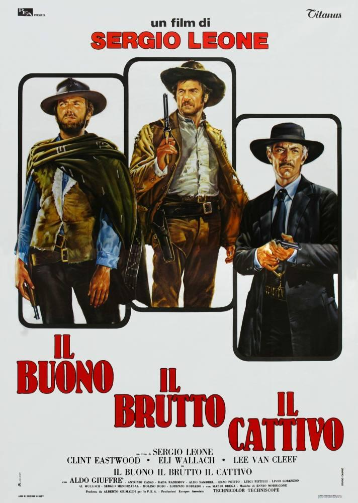 The Good, The Bad, The Ugly  Movie Poster 2, Movie Poster, Poster Satış, all posters, kanvas tablo, canvas print sales