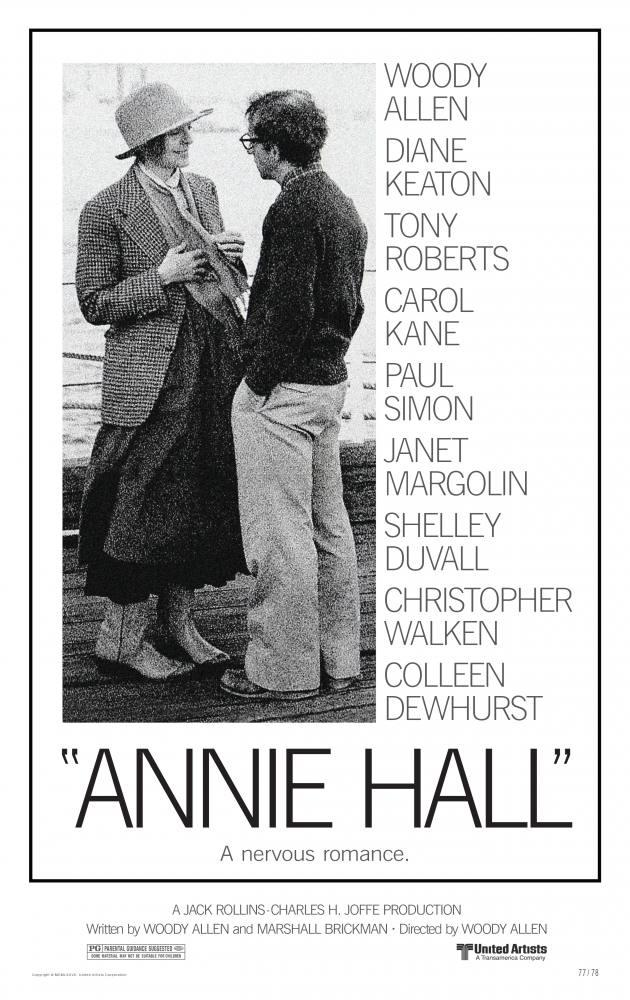 Annie Hall Movie Poster, Movie Poster, Poster Satış, all posters, kanvas tablo, canvas print sales