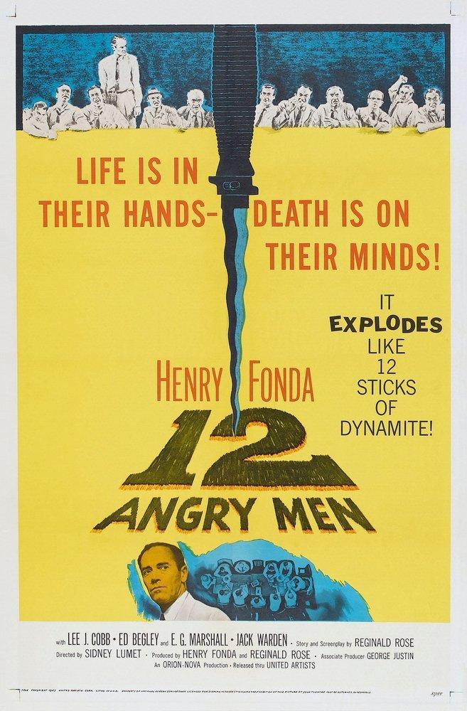 Twelve Angry Man Movie Poster, Movie Poster, Poster Satış, all posters, kanvas tablo, canvas print sales