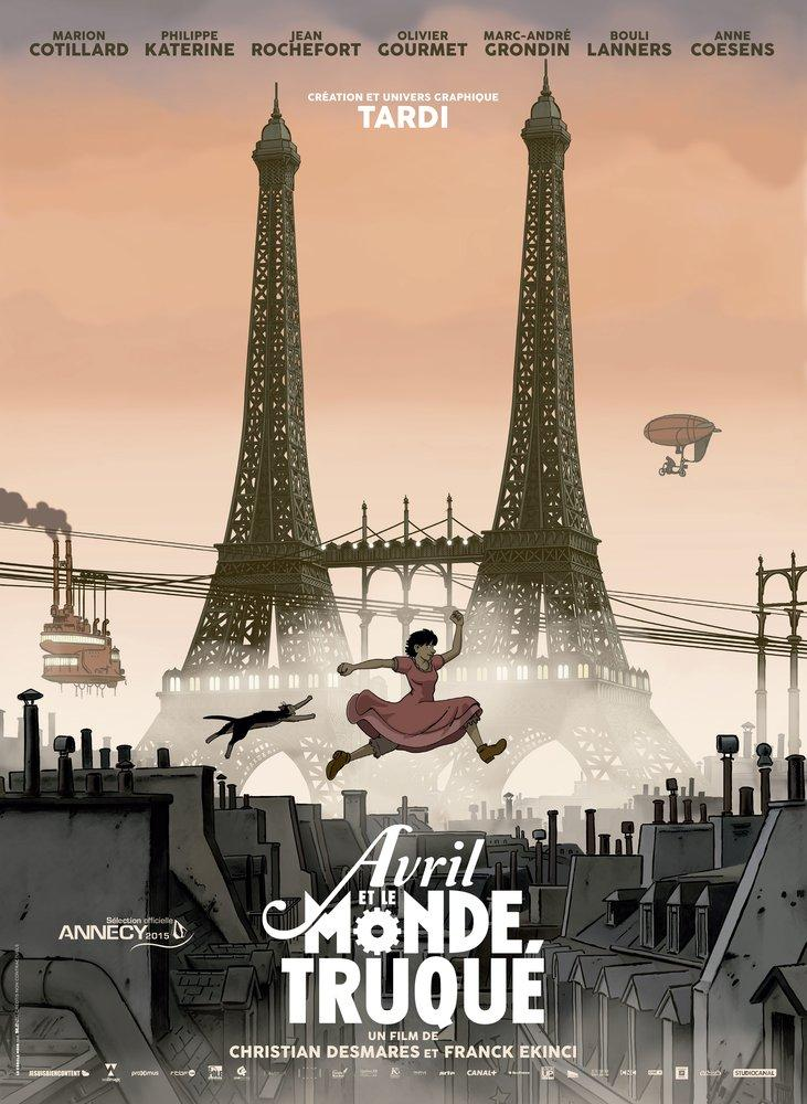 Avril et le Monde Truqué Film Posteri, Film Posteri, Poster Satış, all posters, kanvas tablo, canvas print sales