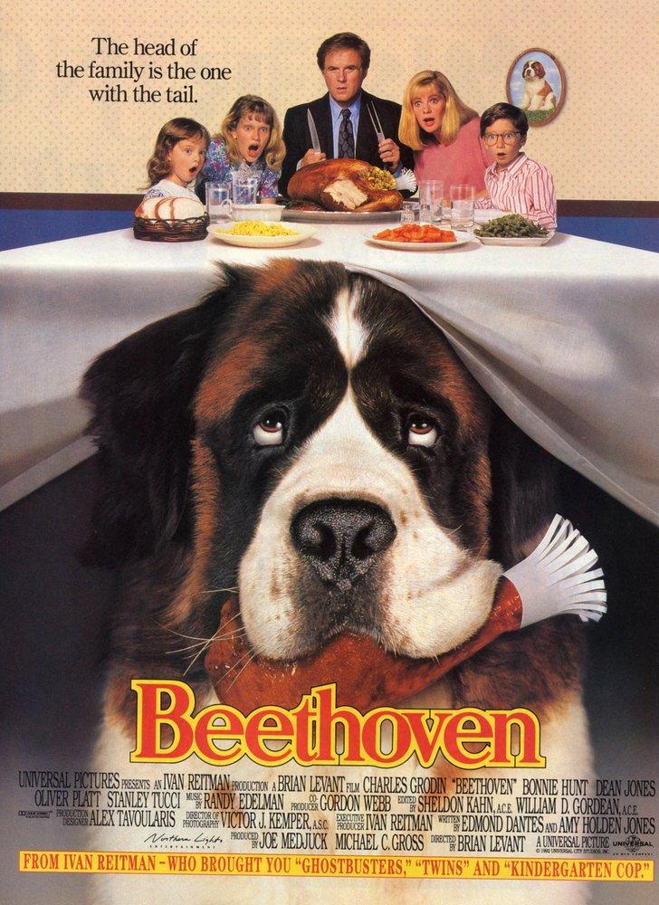 Beethoven Movie Poster, Movie Poster, Poster Satış, all posters, kanvas tablo, canvas print sales