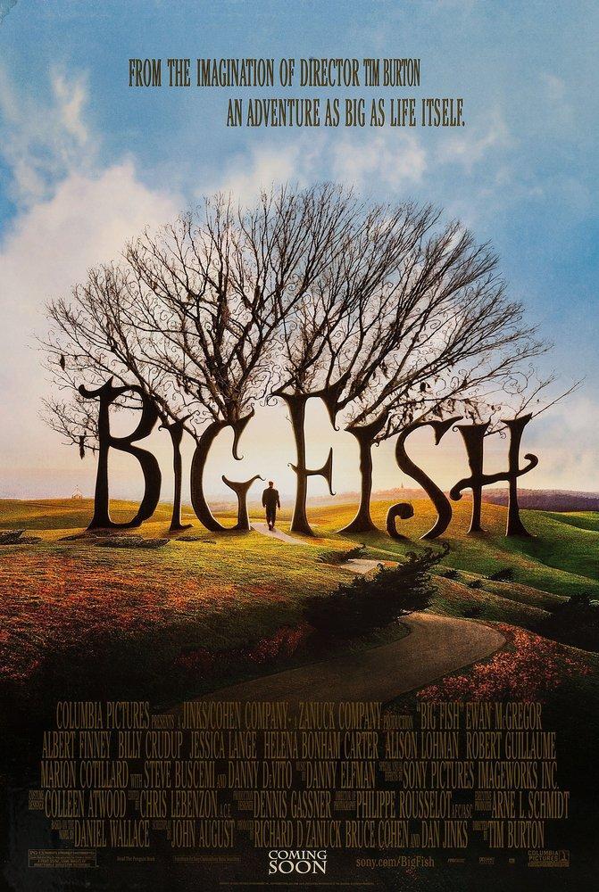 Big Fish Movie Poster, Movie Poster, Poster Satış, all posters, kanvas tablo, canvas print sales