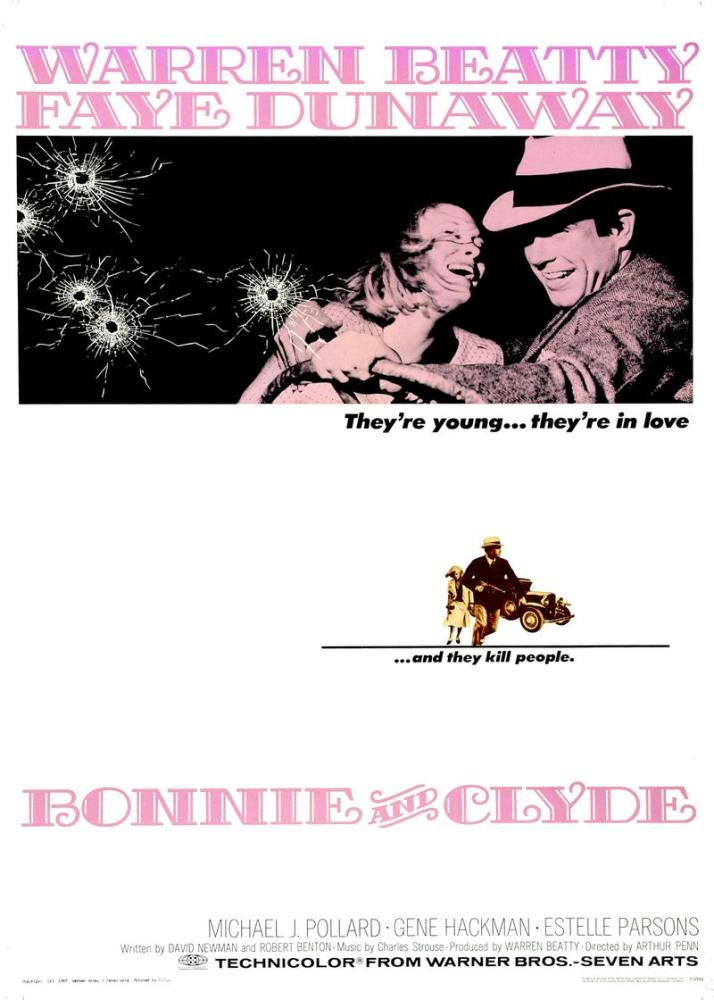 Bonnie ve Clyde Movie Poster, Movie Poster, Poster Satış, all posters, kanvas tablo, canvas print sales
