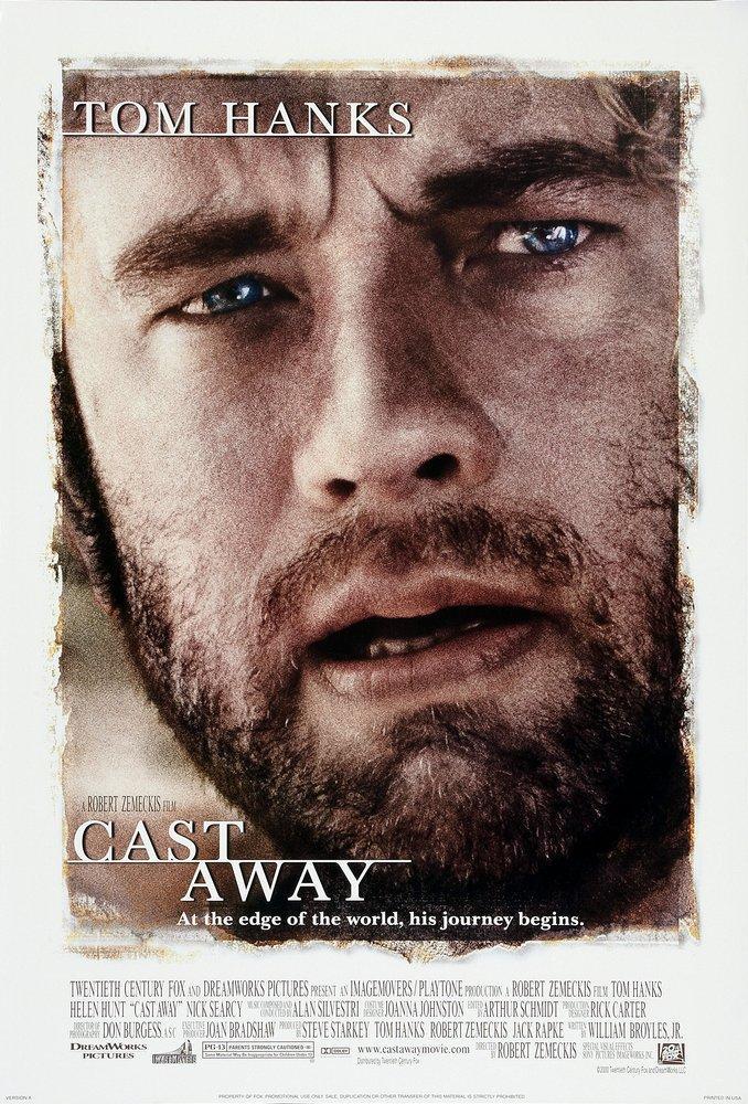 Cast Away Movie Poster, Movie Poster, Poster Satış, all posters, kanvas tablo, canvas print sales