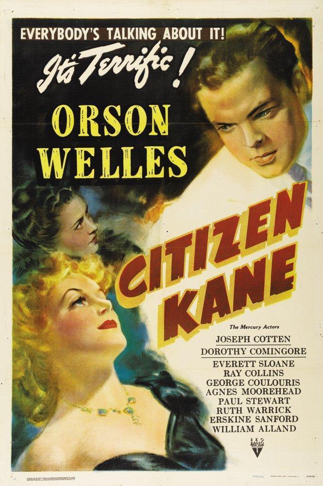 Citizen Kane Movie Poster 4, Movie Poster, Poster Satış, all posters, kanvas tablo, canvas print sales