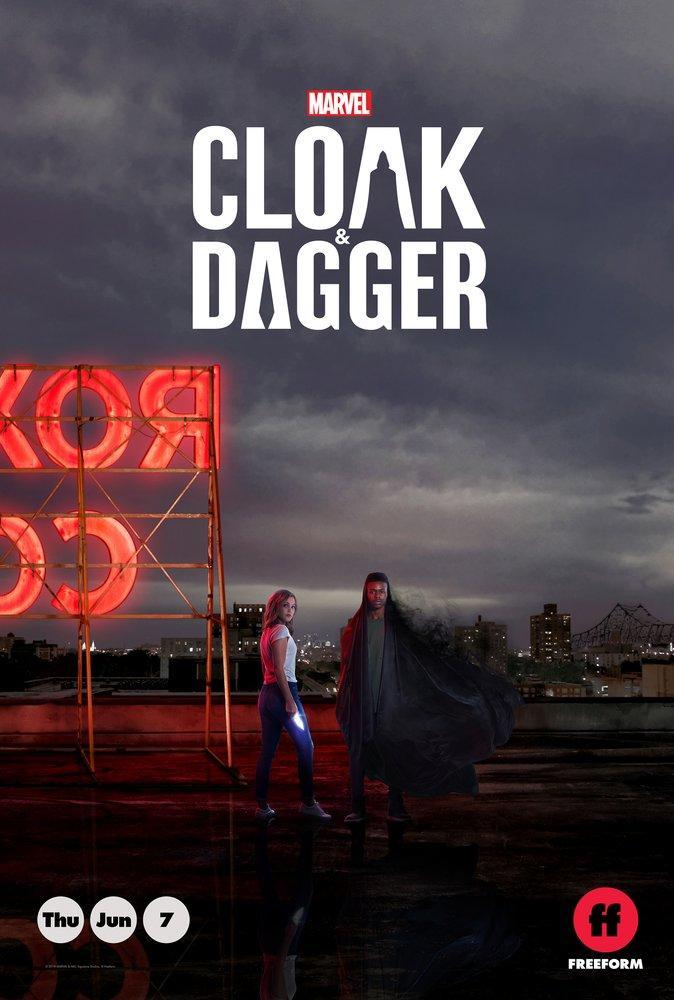 Cloak and Dagger Movie Poster 2, Movie Poster, Poster Satış, all posters, kanvas tablo, canvas print sales