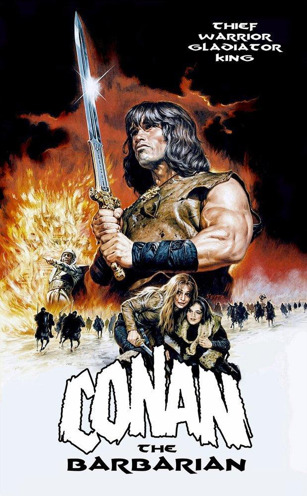 Barbar Conan Film Posteri, Film Posteri, Poster Satış, all posters, kanvas tablo, canvas print sales