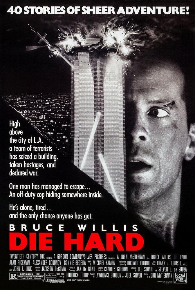 Die Hard Movie Poster 2, Movie Poster, Poster Satış, all posters, kanvas tablo, canvas print sales