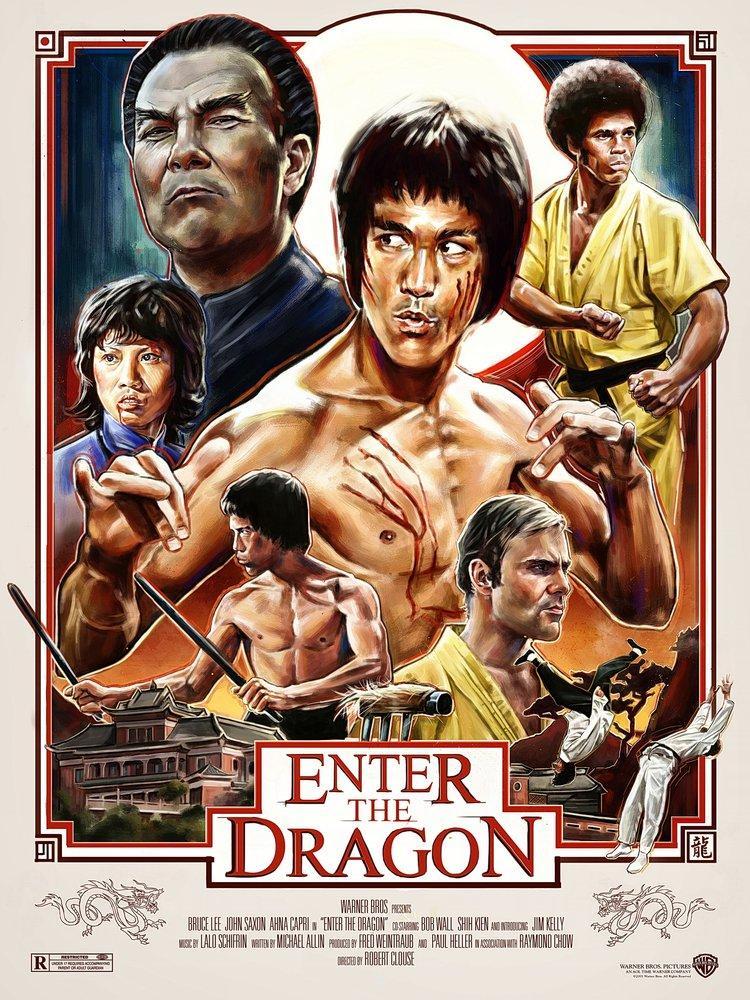 Ejder Kalesi, Bruce Lee Film Posteri, Film Posteri, Poster Satış, all posters, kanvas tablo, canvas print sales
