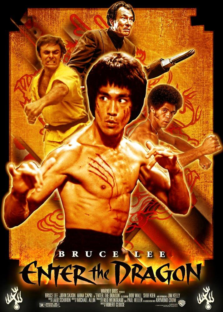 Enter The Dragon, Bruce Lee Movie Poster 2, Movie Poster, Poster Satış, all posters, kanvas tablo, canvas print sales