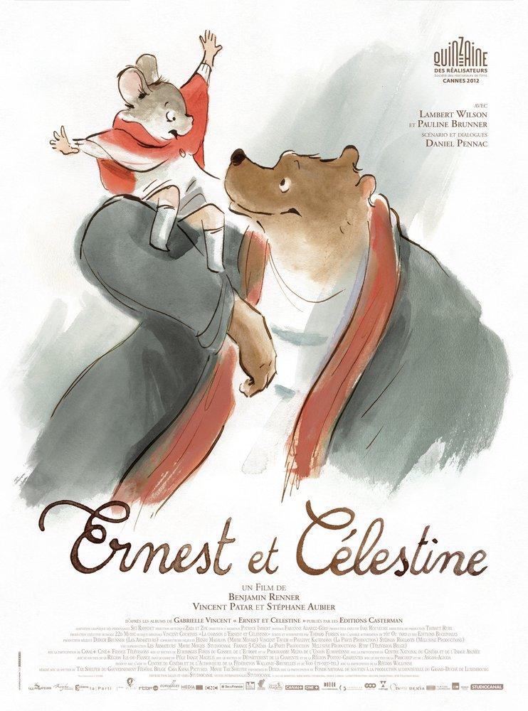 Ernest and Celestine Movie Poster, Movie Poster, Poster Satış, all posters, kanvas tablo, canvas print sales