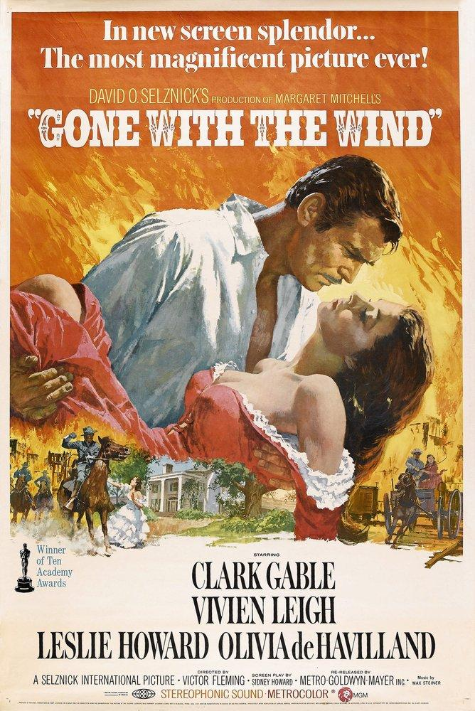 Gone With The Wind Vintage Movie Poster, Movie Poster, Poster Satış, all posters, kanvas tablo, canvas print sales