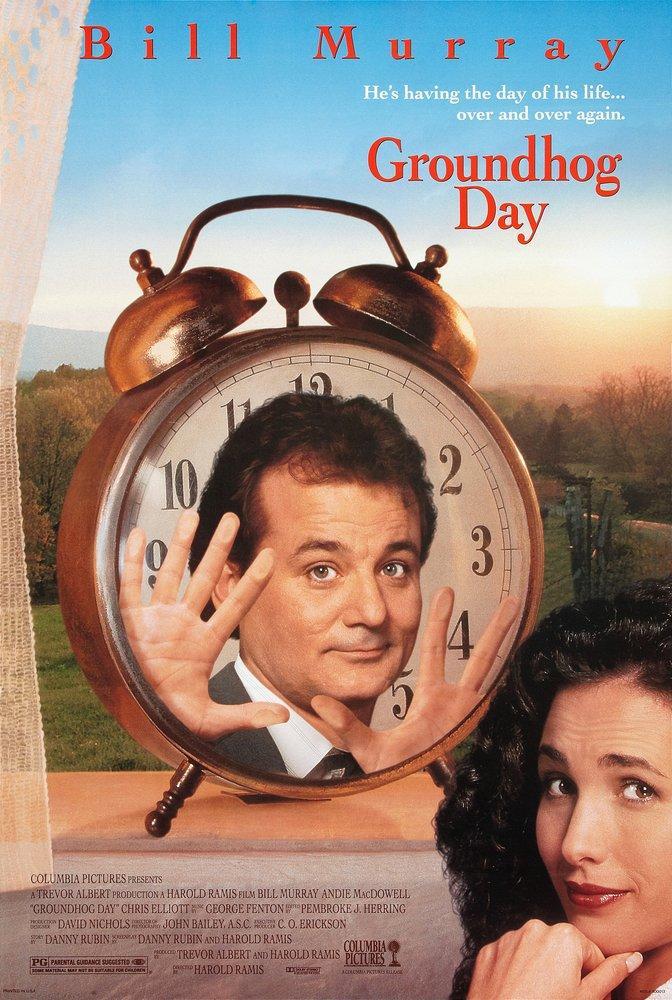 Groundhog Day Movie Poster, Movie Poster, Poster Satış, all posters, kanvas tablo, canvas print sales