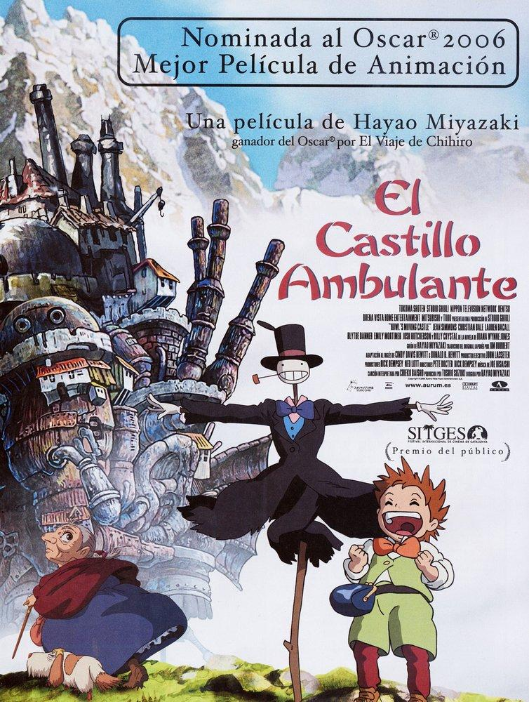 Howl s Moving Castle Cartoon Movie Poster 3, Movie Poster, Poster Satış, all posters, kanvas tablo, canvas print sales