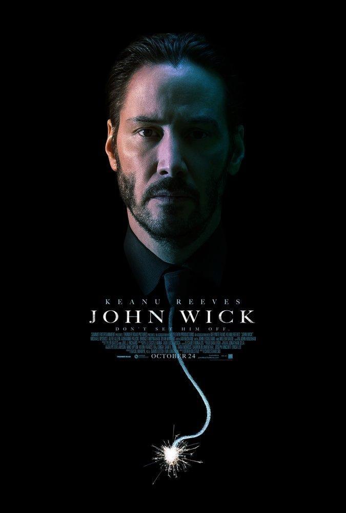 John Wick Movie Poster 2, Movie Poster, Poster Satış, all posters, kanvas tablo, canvas print sales