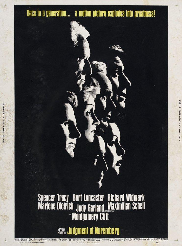 Judgment at Nuremberg Movie Poster 2, Movie Poster, Poster Satış, all posters, kanvas tablo, canvas print sales