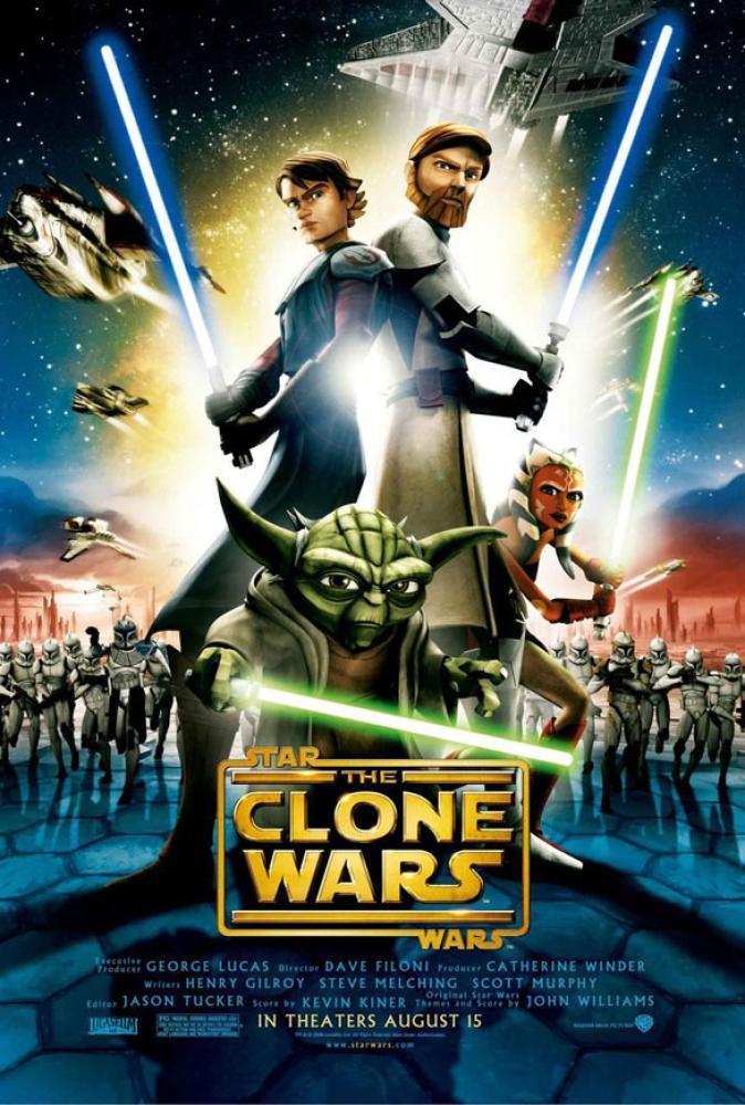 Star Wars: The Clone Wars Animation Movie Poster, Movie Poster, Poster Satış, all posters, kanvas tablo, canvas print sales