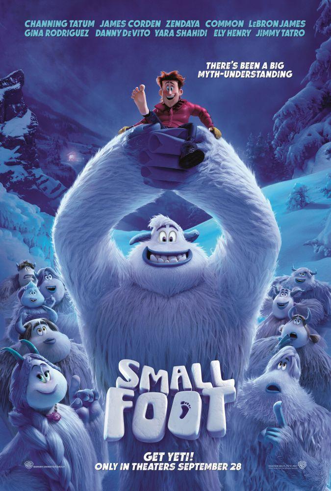 Smallfoot Cartoon Movie Poster, Movie Poster, Poster Satış, all posters, kanvas tablo, canvas print sales