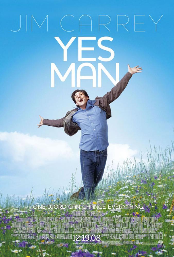 Yes Man Movie Poster, Movie Poster, Poster Satış, all posters, kanvas tablo, canvas print sales