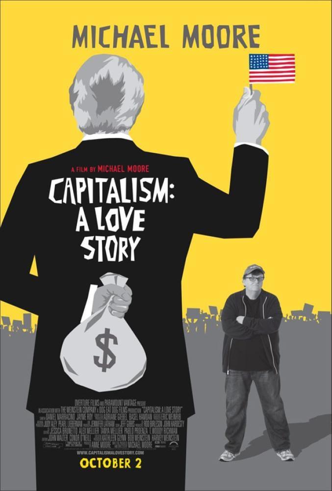 Capitalism: A Love Story Documentary Movie Poster, Movie Poster, Poster Satış, all posters, kanvas tablo, canvas print sales