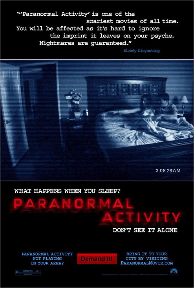 Paranormal Aktivite Film Posteri, Film Posteri, Poster Satış, all posters, kanvas tablo, canvas print sales