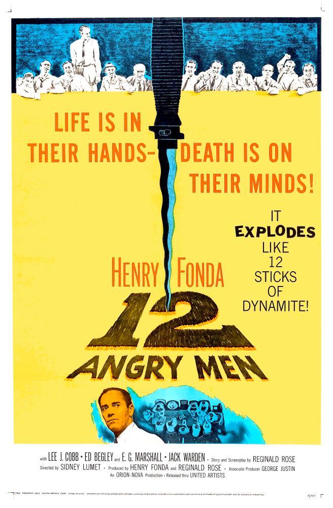 12 Kızgın Adam 2, Vintage, Poster Satış, all posters, kanvas tablo, canvas print sales