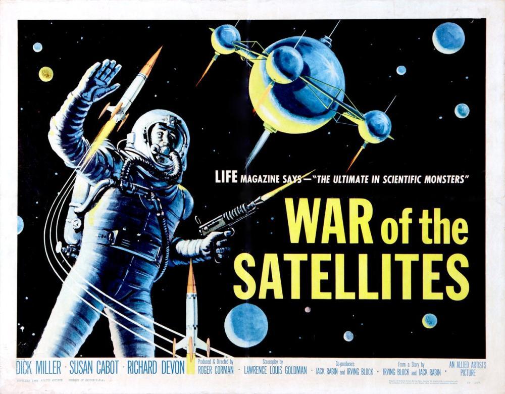 War of the Satellites, Vintage, Poster Satış, all posters, kanvas tablo, canvas print sales