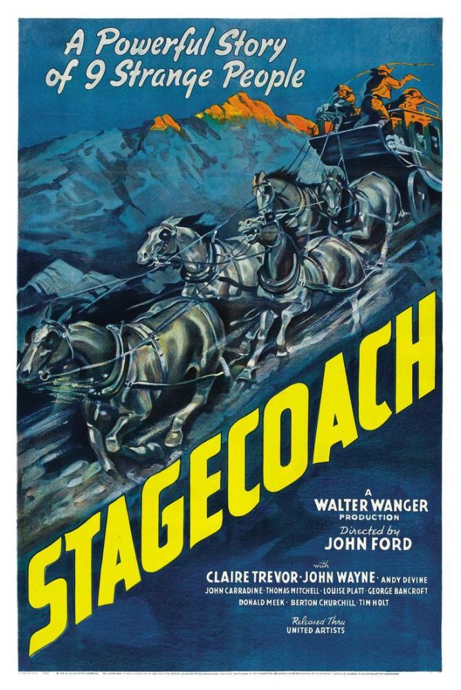 Stagecoach Poster, Vintage, Poster Satış, all posters, kanvas tablo, canvas print sales
