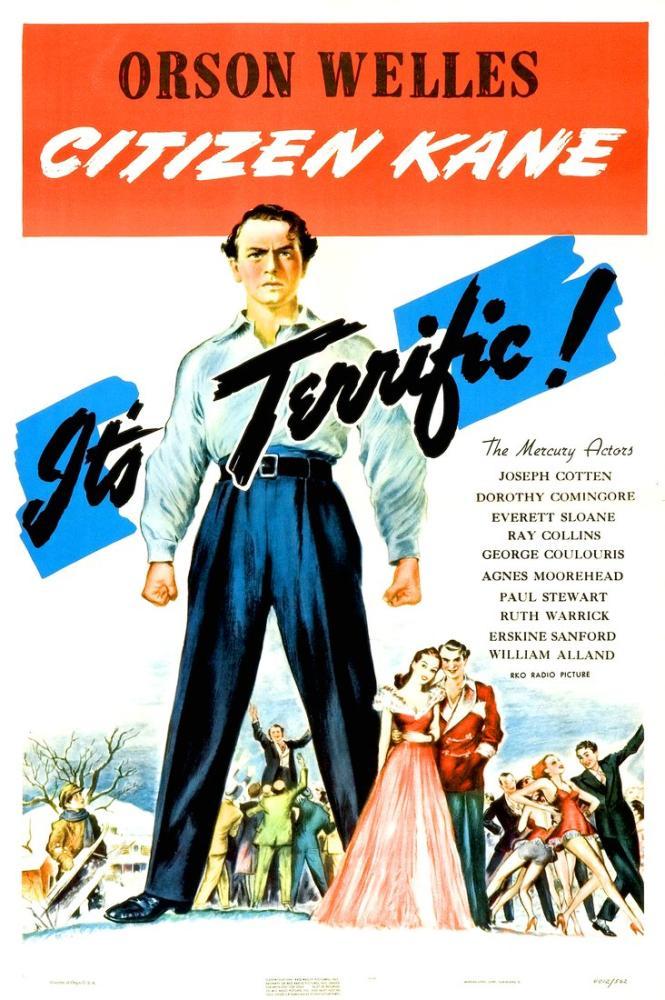 Citizen Kane Poster, Vintage, Poster Satış, all posters, kanvas tablo, canvas print sales