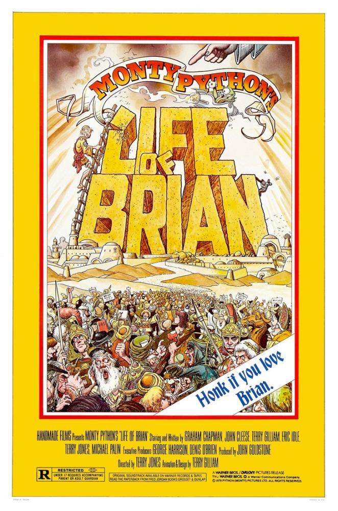 Monty Python s Life of Brian Poster, Vintage, Poster Satış, all posters, kanvas tablo, canvas print sales