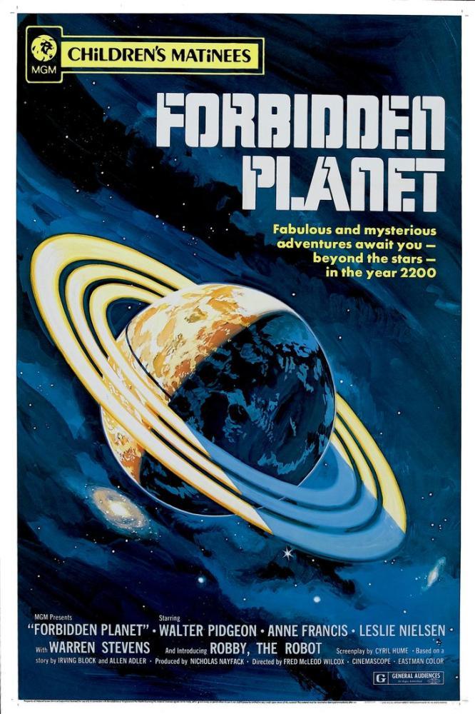 Forbidden Planet 2 Poster, Vintage, Poster Satış, all posters, kanvas tablo, canvas print sales