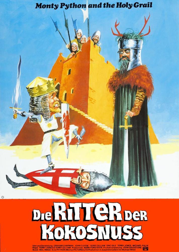 Monty Python and the Holy Grail Poster, Movie Poster, Poster Satış, all posters, kanvas tablo, canvas print sales